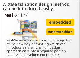 A state transition design method can be introduced easily.